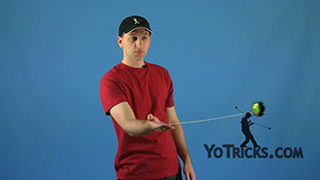 Forward Toss Yoyo Trick