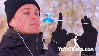 World Yoyo Champion Gentry Stein – Freezing Yoyo Trick
