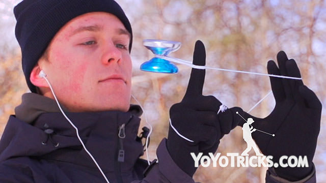 World Yoyo Champion Gentry Stein – Freezing Yoyo Video