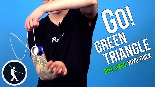 Go Green Triangle Yoyo Trick