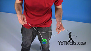 Green Triangle Basics Yoyo Trick