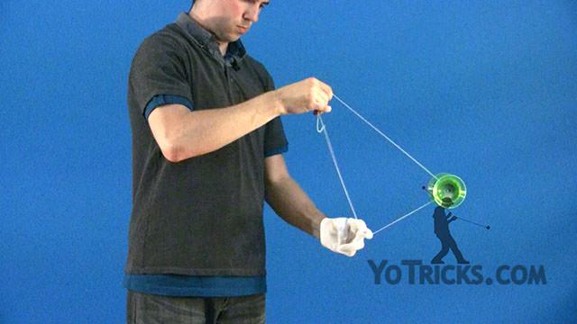 Horizontal Boingy-Boing Yoyo Trick