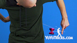 Horizontal Behind the Back Yoyoing Introduction Yoyo Trick