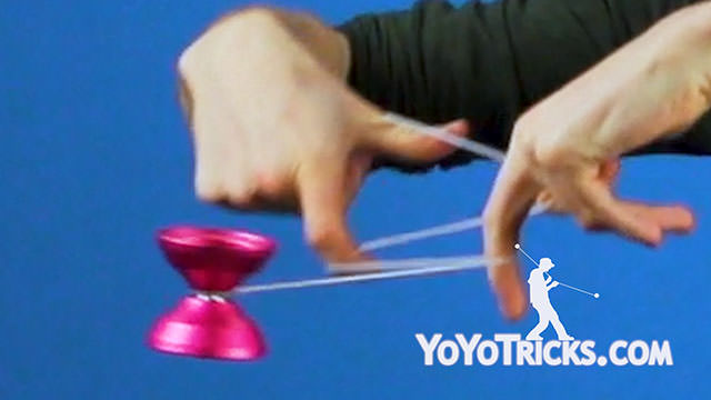Horizontal Black Hops Yoyo Trick