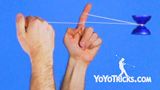Horizontal Skin the Gerbil Yoyo Trick