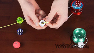 How to String a CounterWeight Yoyo Trick