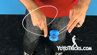 Whip to Kamikaze Mount Yoyo Trick