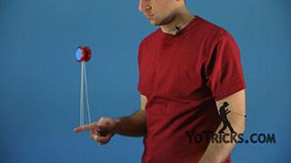 Keychain aka One-Finger Spin Yoyo Trick