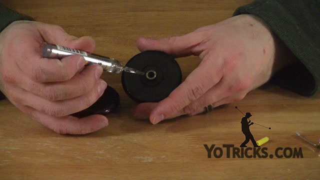 Lubricating the Bearing Yoyo Video
