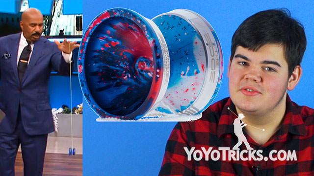 Weekly Yoyo Update: Steve Harvey Learns to Yoyo + Product Restock – 1-17-18 Yoyo Video