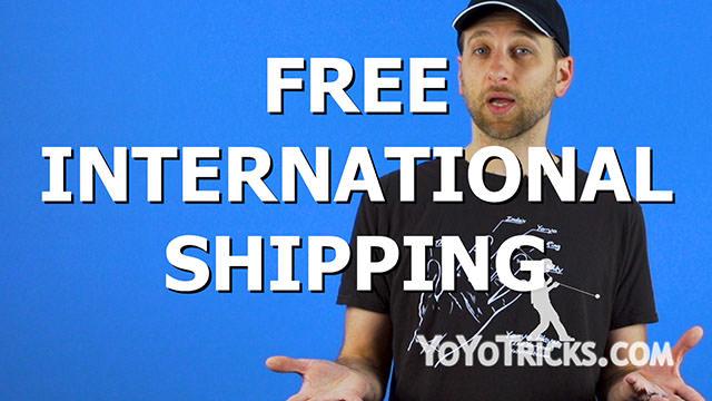 Free International Shipping, New Website, and T-Shirt – Weekly Yoyo Update – 12/1/17 Yoyo Video