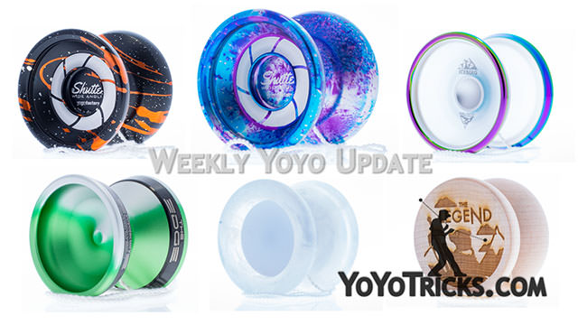 Weekly Yoyo Update: Yoyo Contest Results + HUGE Product Restock – 12-6-17 Yoyo Video