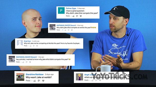 Weekly Yoyo Update – Q&A with Jake Elliott, Adam gets very sad, Instagram Contest – 8-30-17 Yoyo Video