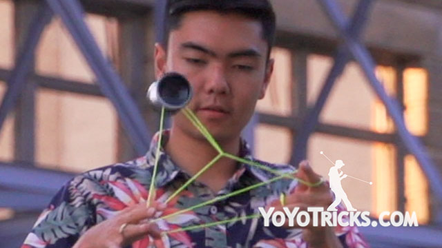Yoyo Legend Evan Nagao in Detroit Yoyo Trick