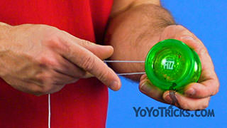 Put on and Adjust Yoyo String Yoyo Trick