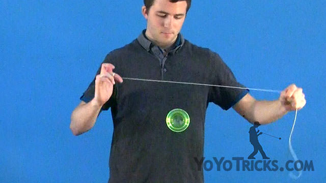 Jump Rope Offstring Yoyo Trick
