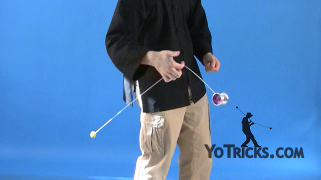 One-Hand Under-Mount Yoyo Trick