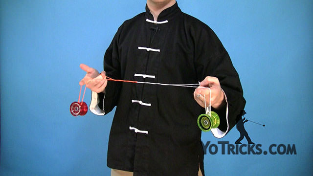 One-and-a-Half Kink-Mount Yoyo Trick