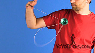 One Handed Laceration Style Binds Yoyo Trick