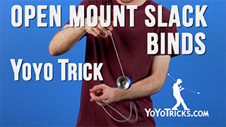 Three Open Mount Slack Binds
