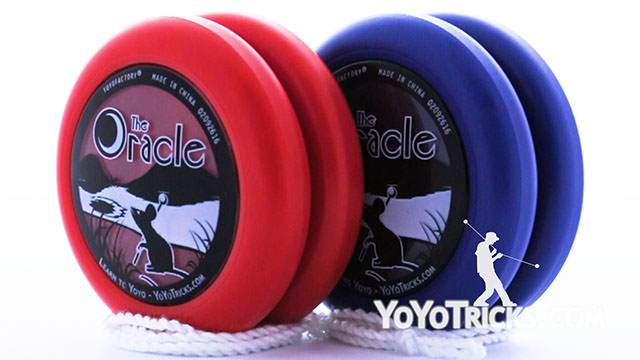 The Oracle Yoyo: Unboxing and Review Yoyo Video