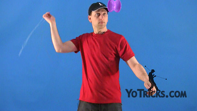 Basic Overhand Whip – Offstring (4A) Yoyo Trick