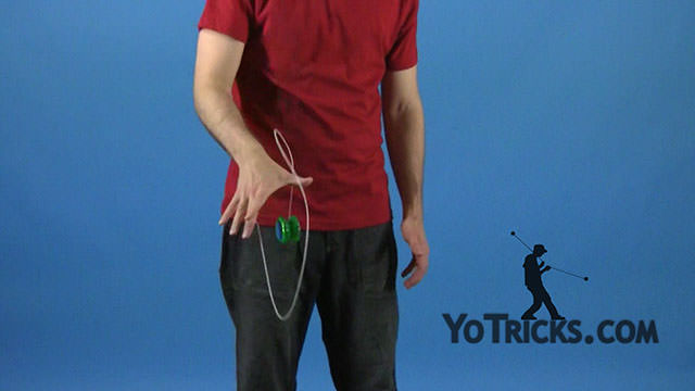 Plastic Whip Yoyo Trick