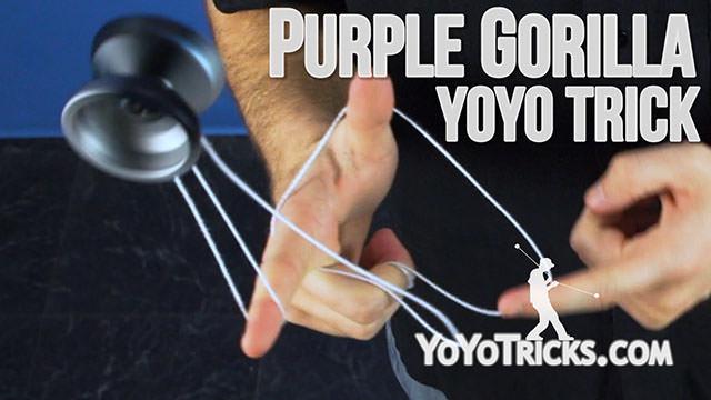 Purple Gorilla Yoyo Trick