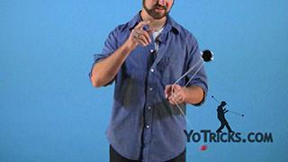 Reverse 360 Yoyo Trick