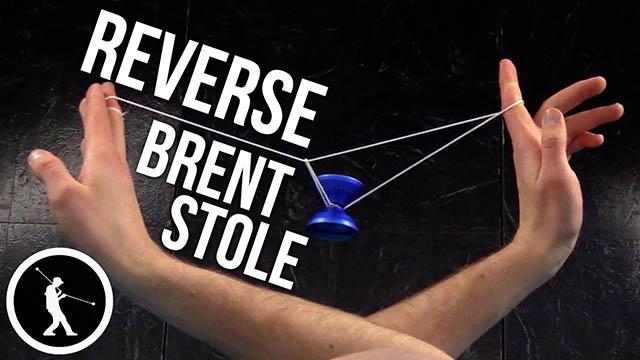Reverse Brent Stole Yoyo Trick