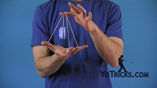 Rock the Baby in the Pyramid Yoyo Trick