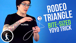Rodeo Triangle Yoyo Trick