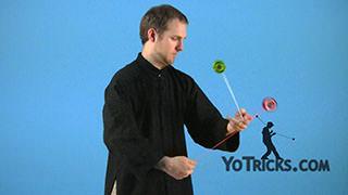 Shima Wraps AKA Wrist Rolls Yoyo Trick