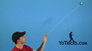 Shoot the Moon Yoyo Trick