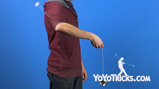Shoulder Pop Yoyo Trick