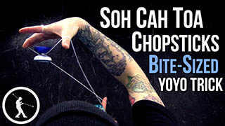 SOH-CAH-TOA Chopsticks Yoyo Trick