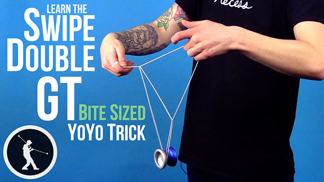 Swipe Double Green Triangle Yoyo Trick