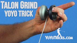 Talon Grind + Bind Yoyo Trick