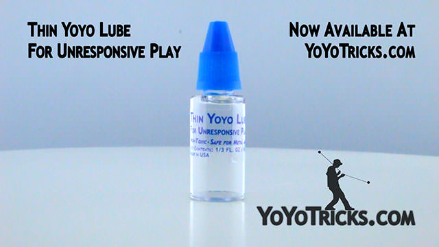 Using Thin Yoyo Lube to Maintain Unresponsive Bearings Yoyo Video