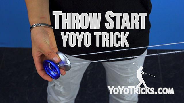 Throw Start Yoyo Trick