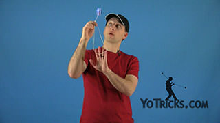 Throw the Baby Yoyo Trick