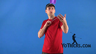 Toss and Catch Offstring Yoyo Trick