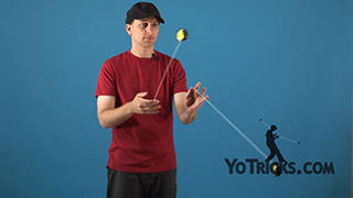 Two-Handed Loops Yoyo Trick