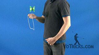 Underhand Whip Yoyo Trick