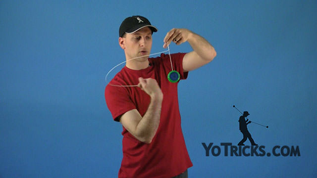 Unresponsive String Tension Yoyo Trick