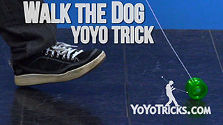 Walk the Dog Yoyo Trick