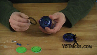 Add Weight Rings to the Luminator Yoyo Trick