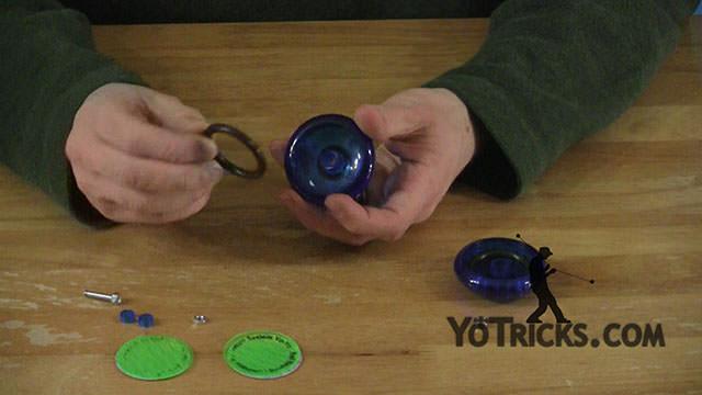 Add Weight Rings to the Luminator Yoyo Video
