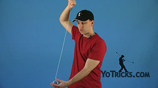 Quickly Wind the String Yoyo Trick