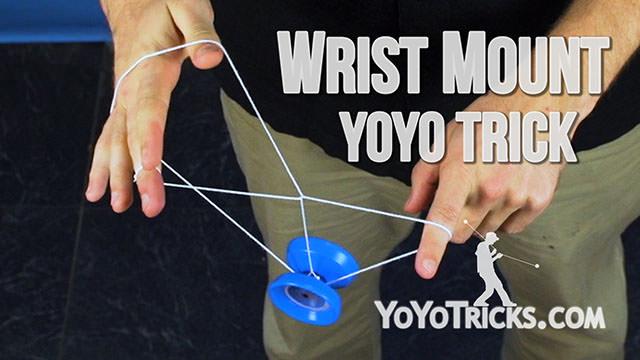 Wrist Mount Yoyo Trick